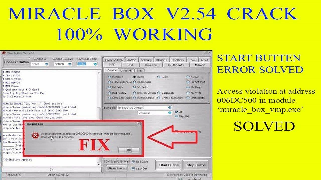 miracle box crack v.2.27 100 work 100