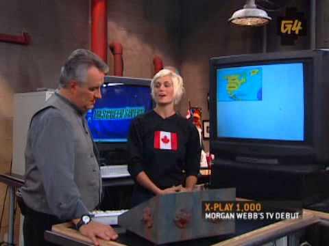XPlay  Morgan Webb's First TV Appearance