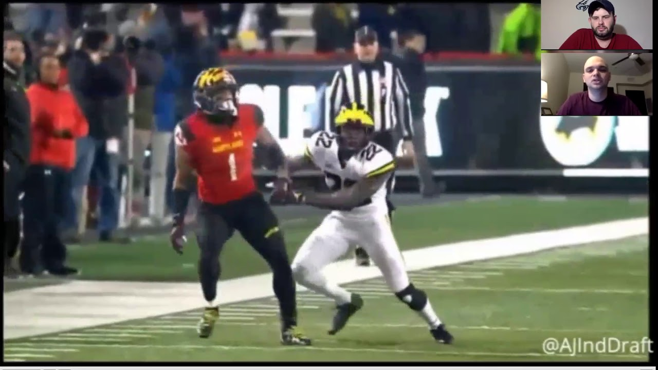 5480108b9 2018 NFL Draft Film Room  Maryland Wide Receiver D.J. Moore - YouTube