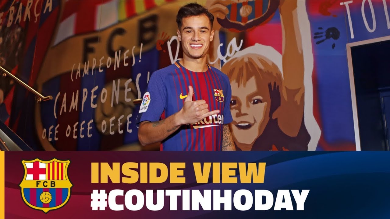 1b335faab  BEHIND THE SCENES  24 hours with Coutinho  CoutinhoDay · FC Barcelona
