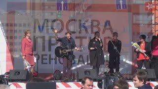 'Аркадий Коц': выступление на митинге против реновации в Москве