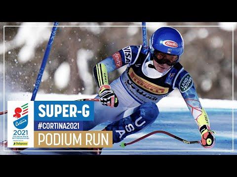 Mikaela Shiffrin | Bronze | Women's Super-G | 2021 FIS World Alpine Ski Championships