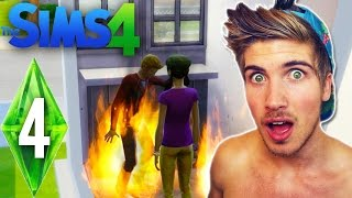"KILLING THE NEIGHBORS! ""THE SIMS 4"" Ep.4"