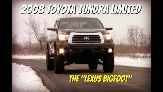 Toyota Tundra Limited - Video Test Drive and Review