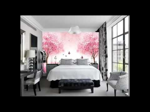 Puneet sachdeva amazing bedroom 3d wallpaper youtube for 3d wallpaper for bedroom
