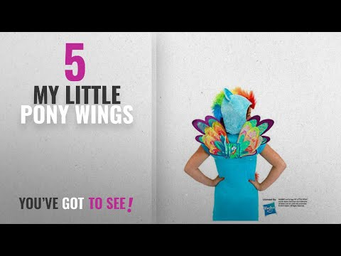 Top 10 My Little Pony Wings [2018]: My Little Pony Rainbow Dash Costume Fairy Wings By Elope