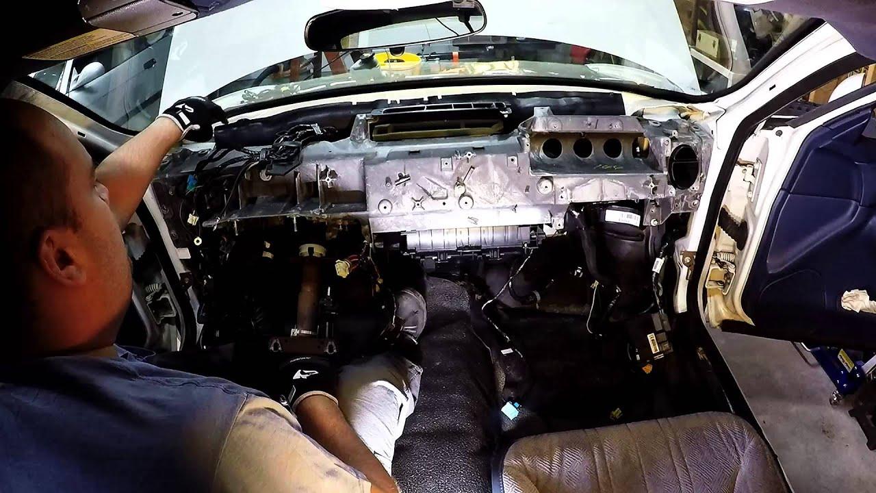 Impala Wiring Harness Dashboard Carrier Airbox Teardown 8th Gen
