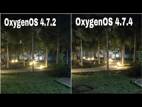Oneplus 5T Camera Comparison with Old OxygenOS 4.7.2 and New 4.7.4 Update