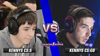 kennyS CS:S vs kennyS CS:GO