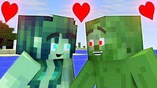 Love Story | The Minecraft Life of Zomma & ZomBo #3| ZomBo Minecraft Animation