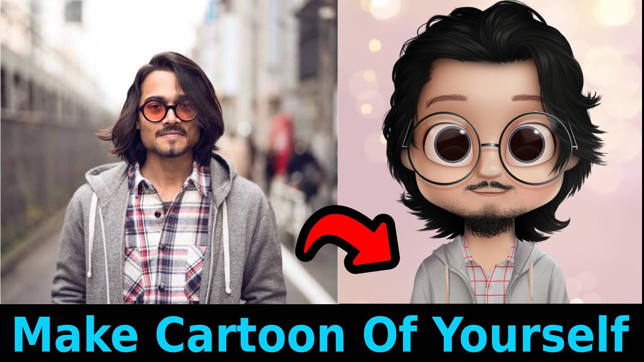 How to make cute cartoon character in android | Dollify Premium Apk | Easy  Tutorial