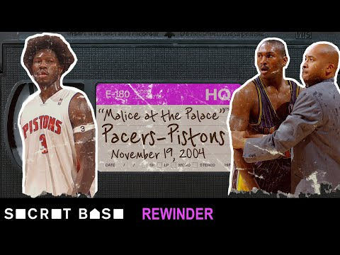 The infamous 'Malice at the Palace' fight needs a deep rewind | 2004 Pacers-Pistons