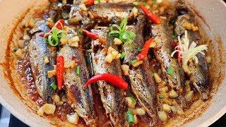 [ HƯỚNG DẪN NẤU ĂN ] Cá Nục Kho Tiêu Ớt cực kì thơm ngon