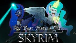 Two Best Sisters Play - Skyrim смотреть онлайн в хорошем качестве бесплатно - VIDEOOO