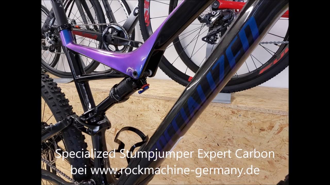 Specialized Stumpjumper comp FSR Carbon29/6Fattie Gloss Carbon ...