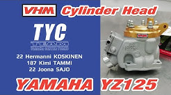 Installing VHM Cylinder Head, Yamaha YZ125