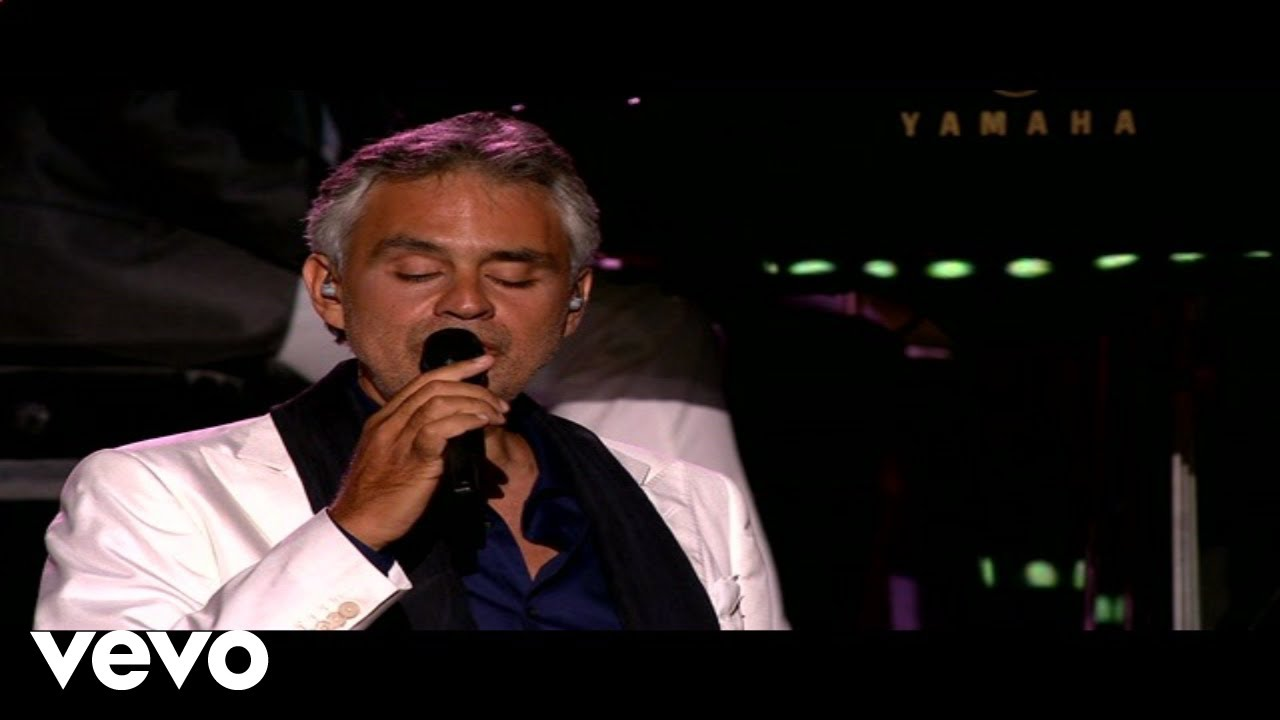 Andrea Bocelli - La Vie En Rose ft  Edith Piaf