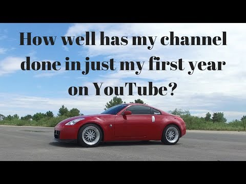First Year on YouTube Review | Stock 350z 0-60 Time