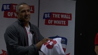 #EnglandRL going for gold as Daley Thompson hands out jerseys