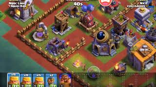 Clash of clans Probando la maquina belica al 5!!
