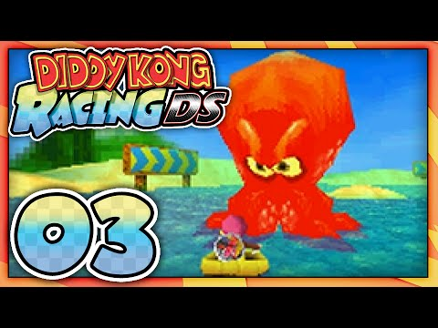 Let's Play: Diddy Kong Racing DS - Part 3: Sherbet Island ...