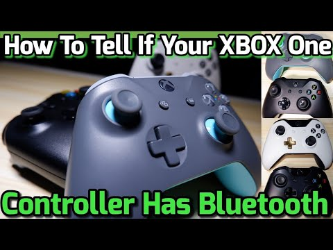 How To Tell If Xbox One Controller Has Bluetooth