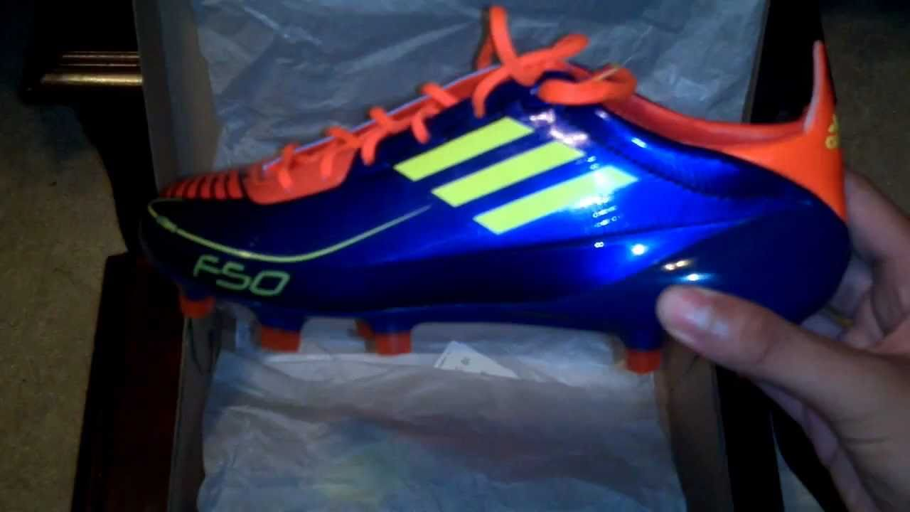 new products 18f48 ff993 Unboxing New Adidas F50 Adizero TRX FG (synthetic) Anodized  Purple Electricity Infrared - YouTube