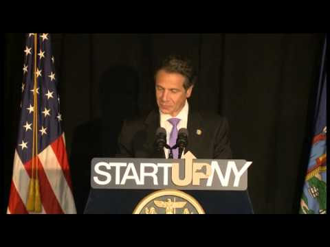 Governor Andrew Cuomo on Start-Up NY