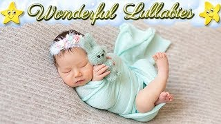 Super Relaxing Baby Lullabies ♥ Best Soft Calming Bedtime Music ♫ Good Night Sweet Dreams