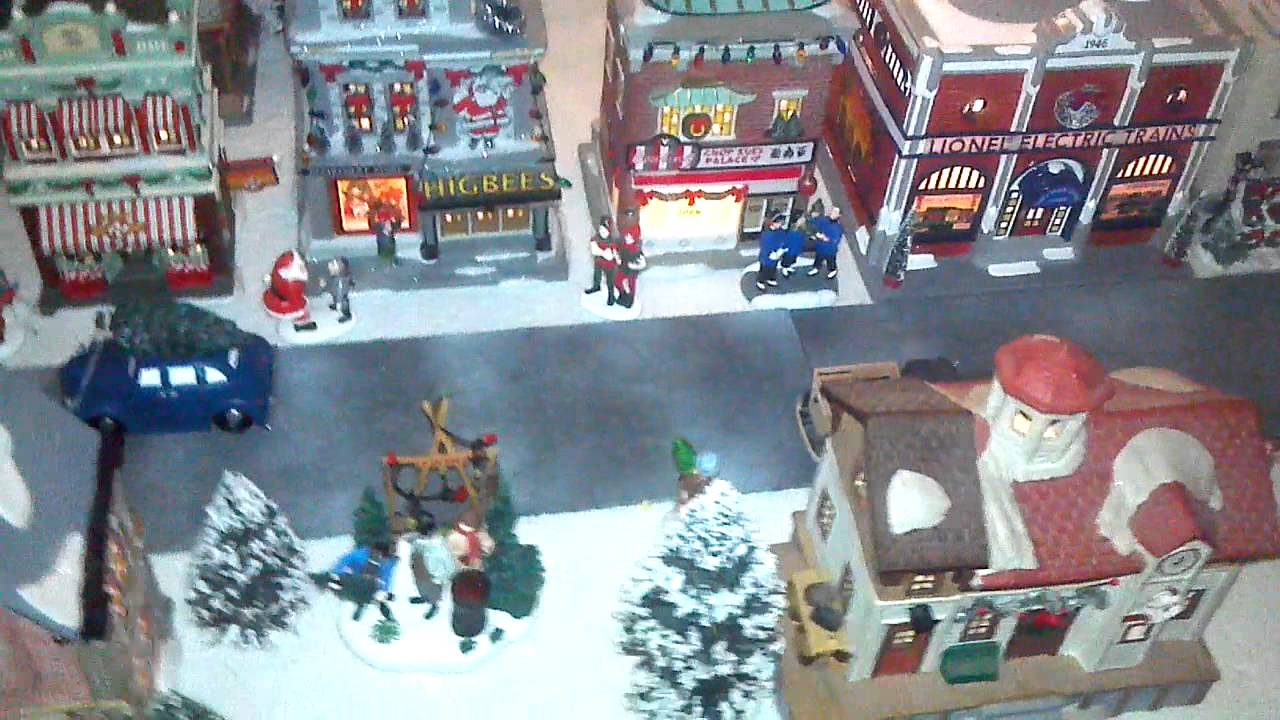 2012 Department 56 A Christmas Story Layout no. 3 - YouTube