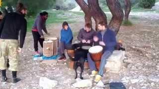 Школа барабанщиков на ... Кесарьяни