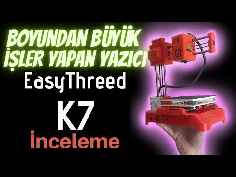 EasyThreed K7 Dünyanın En Ucuz 3 Boyutlu Yazıcısı İnceleme