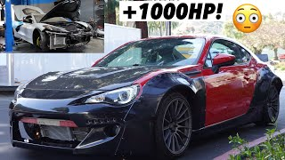 homepage tile video photo for THE WIDEBODY BRZ IS COMPLETE! + TT C8 Corvette Update!