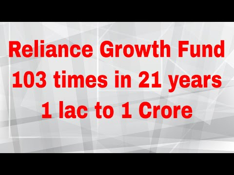 Reliance Growth Fund | Long Term Investment Use Case | Best Funds in India