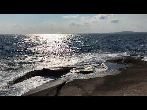 Peggy's  Cove Light House Halifax Nova Scotia Canada, Peggy's Cove stormy waves
