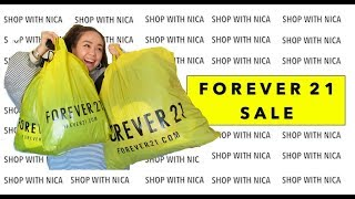 I BOUGHT 35 ITEMS WITH $100 | Huge Forever 21 Haul