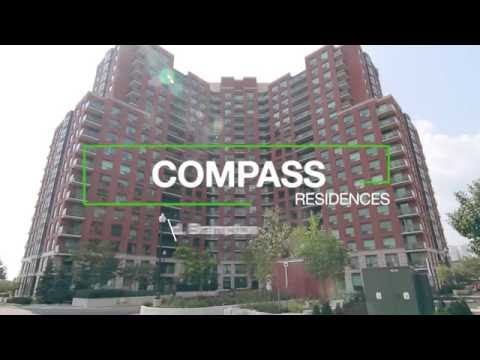 Apartments for rent at Compass Rental Residences, located at 64 Bramelea Road in Brampton