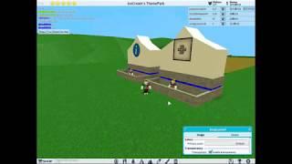 cómo hacer escritorio de información en ROBLOX Theme Park Tycoon 2