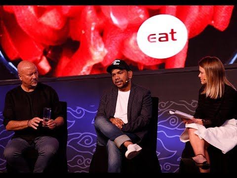 Going green with Chefs | Ray (Locavore) & Rob Oliver at #EATapac