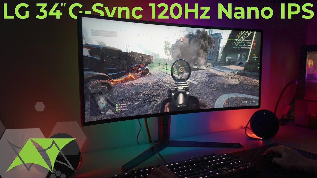 LG Nano IPS   G-Sync ultrawide أفضل شاشة ألعاب