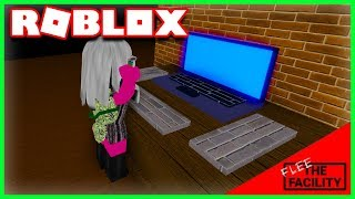 A COMPUTER ON THE ROOF..? | Roblox Flee The Facility