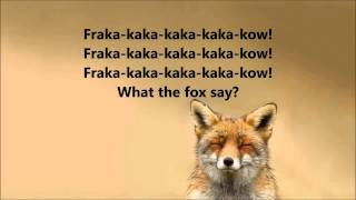 What does the fox say Ylvis Lyrics