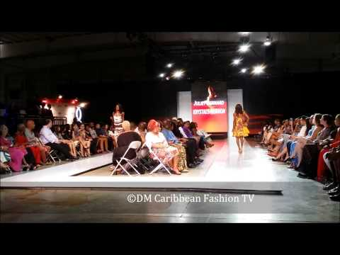 Caribbean Fashion Week 2014,14th June: Fashion show 18  Juliet Bernard from Trinidad and Tobago