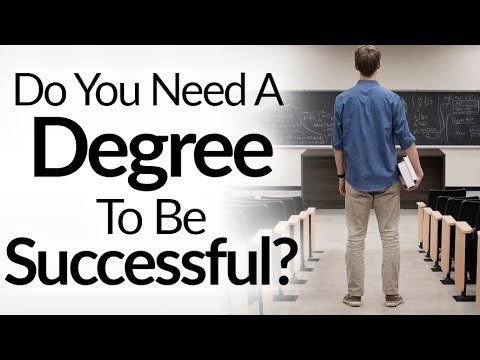 Is a college degree necessary in