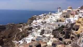 Греция Отдых Santorini Island Oia | Остров Санторини  Vlog день 3(В этот день мы немного по валялись на пляже и поехали в город Ия | Oia. Город закатов, незабываемых видов и..., 2015-06-04T16:04:11.000Z)