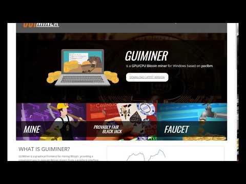 How To Mine Bitcoins Using Single GPU (HD7950x) And GUIMiner