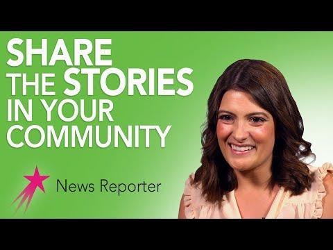 News Reporter: Why Broadcast Journalism - Tyler Harrison Career Girls
