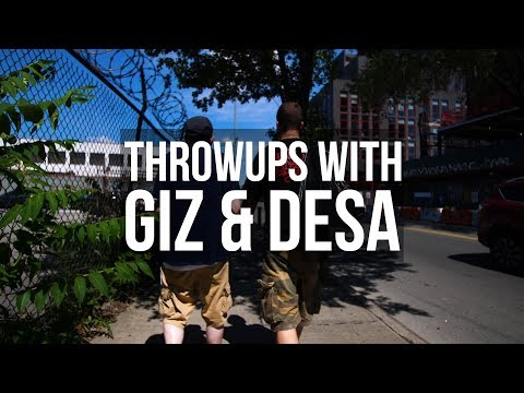 Throwups with: GIZ & DESA