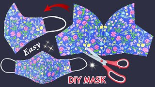 Very Easy New Style 3 Layers Mask Diy Breathable 3D Face Mask Sewing Tutorial Mask Making Ideas