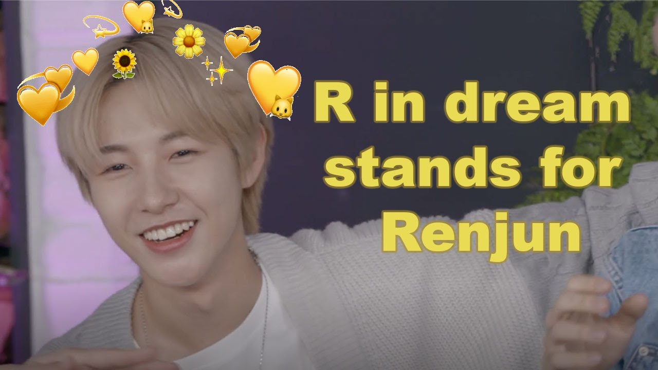 nct dream simping over Renjun as they should (mostly Haechan)